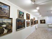Экспозиция картин латышских художников
