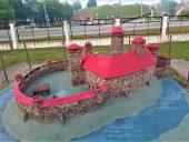 Макет Резекненского замка