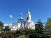 Православный Успенский храм в Лудзе