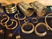 Браслеты и кольца земгальских женщин