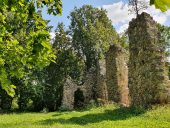 Руины орденского замка