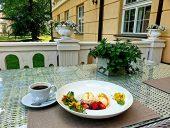 Кафе на террасе