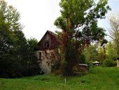 Старая мельница в поместье Аллажи